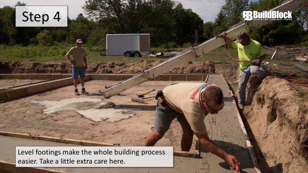 basic icf construction step 4