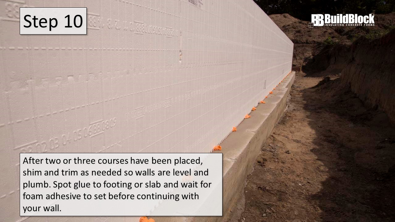 Basic ICF Construction in 22 Steps - BuildBlock Insulating Concrete