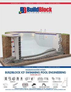 Icf Swimming Pool Engineering Guide Released Buildblock Insulating Concrete Forms