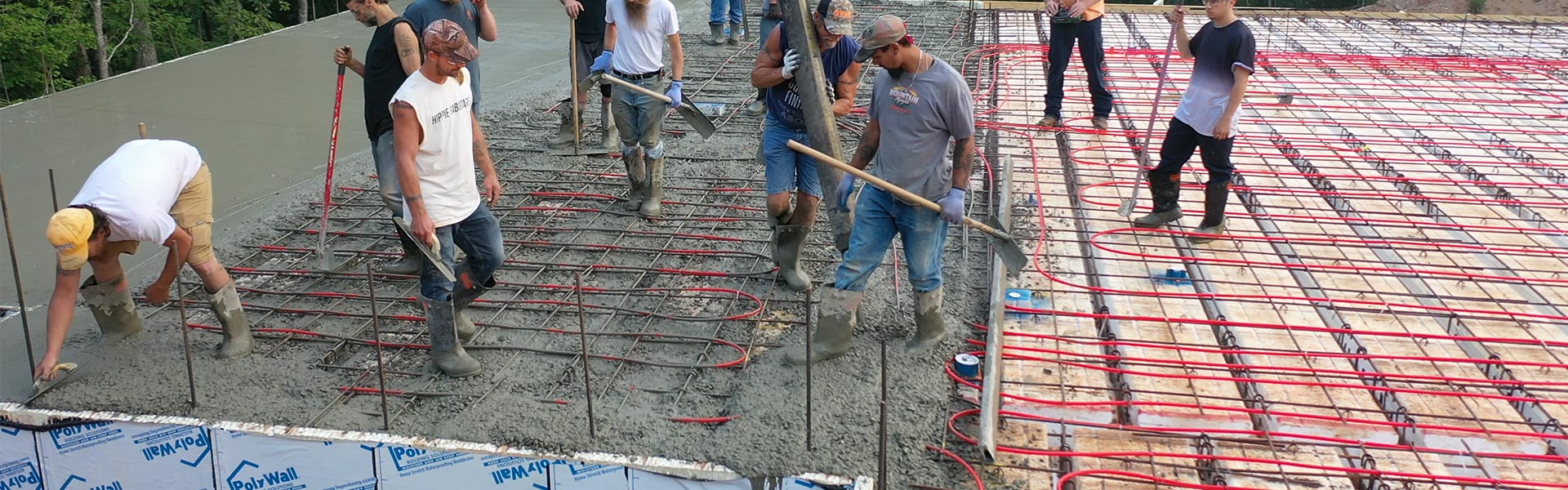 BuildDeck Pour with Radiant Flooring