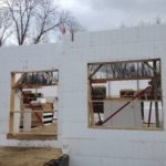ICF walls with window openings