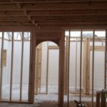 Interior wood framing