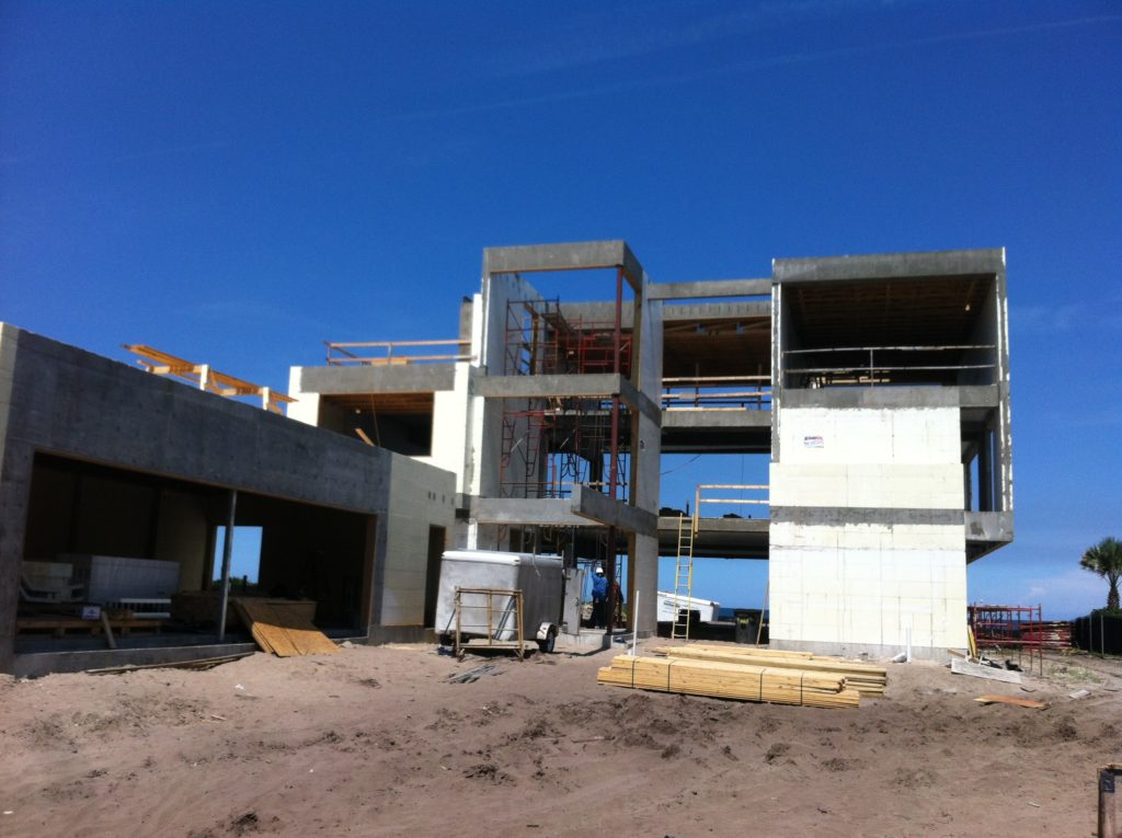 Buildblock project atlantic beach house wins icf builder for Beach house design competition
