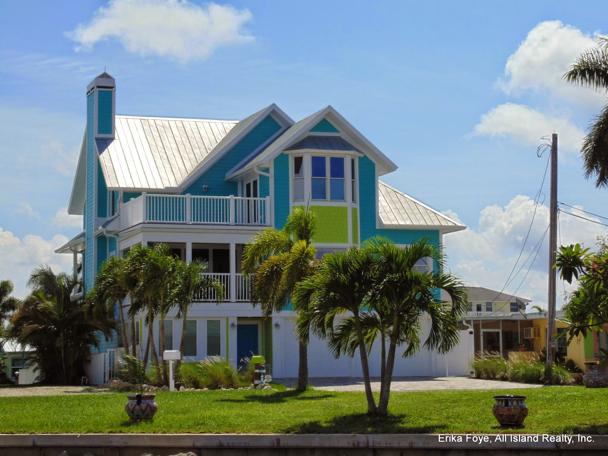 Attractive BuildBlock ICFs Create Stunning Old Florida Island Style Home In Matlacha,  FL